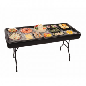A Photo Of Sushi Table Ready To Rent From An Event Rental Store In North Randall, OH - Party Safari