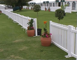 Event Fence 6 White Party Safari Ohio Cleveland Tent